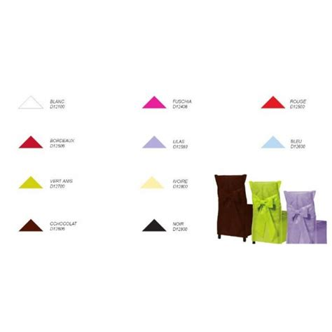 housse de chaise en papier housse de chaise couleur bordeaux x6