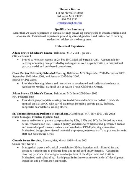 Rn Student Resume by Nursing Student Resume Clinical Experience Nursing