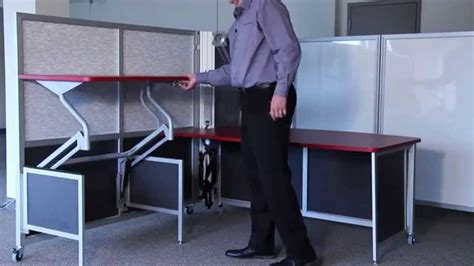 up and down desk mobile collapsible workstations rolling fold up desks
