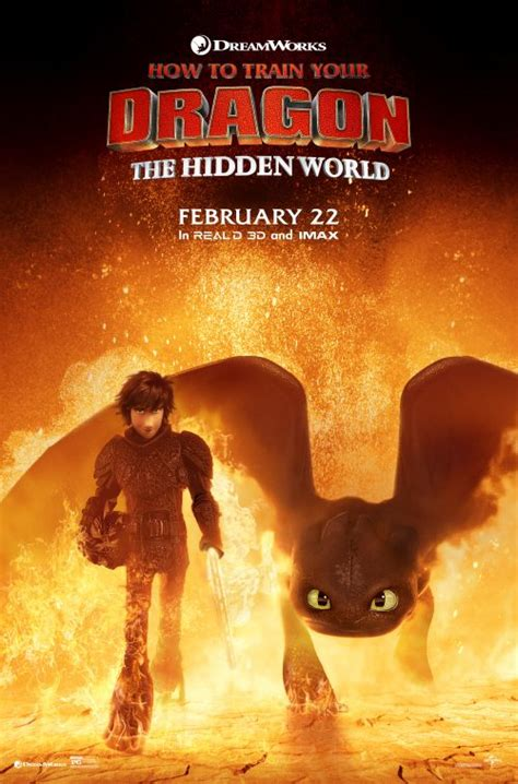 dragon train hidden poster movie posters cast film fire movies spoilers burning coming