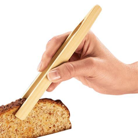 bamboo toast tong toast tongs bamboo tongs easy comforts