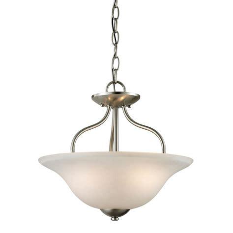 nickel semi flush ceiling lights titan lighting conway 2 light brushed nickel ceiling semi