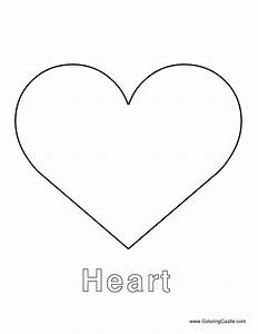 heart template to cut out a perfect heart or to put names With heart template for printing