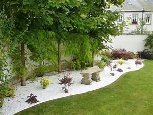 Jardin Deco Exterieur : gravier blanc pour le jardin astuces et id es d co ideeco ~ Teatrodelosmanantiales.com Idées de Décoration