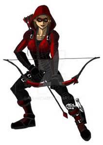Thea Queen Speedy Red Arrow