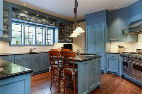 blue kitchen floor 25 blue and white kitchens design ideas designing idea 1734