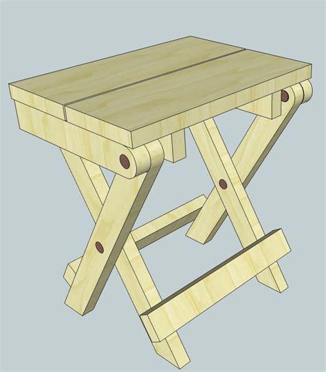 folding stool plans woodworking  mere mortals