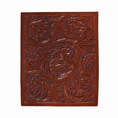 Carving Floral Frontier Finishes Paso Saddlery El