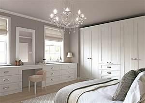 Beautiful, White, Shaker, Bedroom