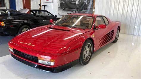 The authorized ferrari dealer ron tonkin gran turismo has a wide choice of new and preowned ferrari cars. 12K Mile Midship: 1987 Ferrari Testarossa | Motorious