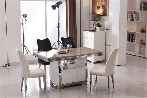 buy stainless steel dining room set home