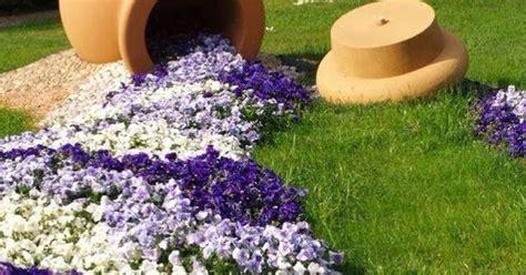 planters   spill fragrant flowers