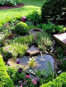 Springbrunnen Für Teich : miniteich an der terrasse g brunnen wasser teiche b che wasserf lle pinterest ~ Eleganceandgraceweddings.com Haus und Dekorationen