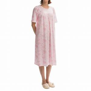 Calida Soft Cotton Nightgown (For Women) 4439V - Save 48%