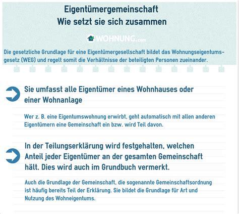 Eigentuemergemeinschaft Rechte Pflichten by Eigent 252 Mergemeinschaft Aufgaben Und Pflichten Wohnung