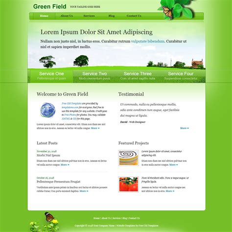 avada portfolio tree column template free template 310 green field