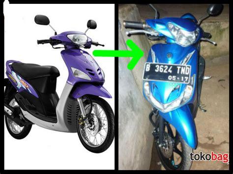Modif Mio Soul Pelek 17 Warna Biru by Koleksi Modifikasi Motor Mio Sporty Warna Biru Terbaru