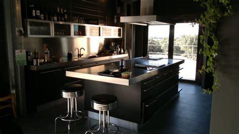 plan de travail cuisine inox pas cher cuisine facade