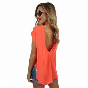 Bright & Beautiful Top Neon Coral • Impressions Online ...