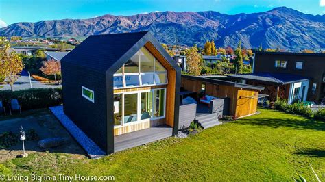 tiny house concept adapted  amazing small modern home
