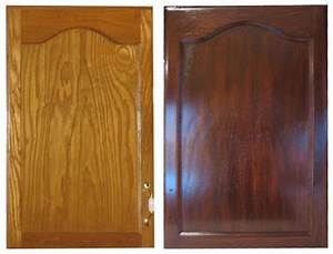 Staining oak cabinets with gel stain swanky suburbia for What kind of paint to use on kitchen cabinets for transparent sticker