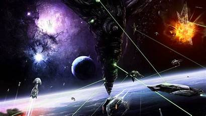 Space 1080p Battle Wallpapers Desktop Outer Background