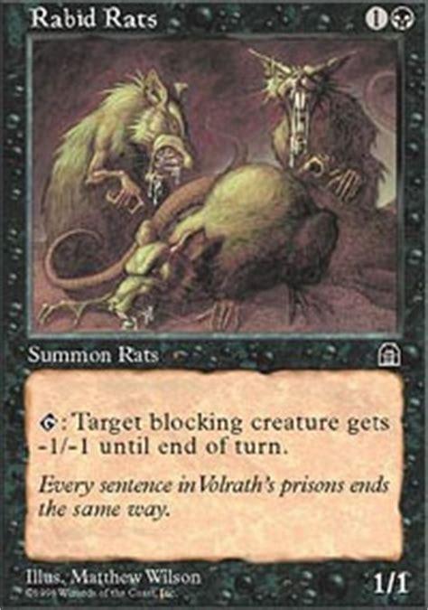 rabid rats sth mtg card