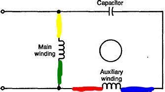 Psc Motor Driver Circut Using Relay Electrical