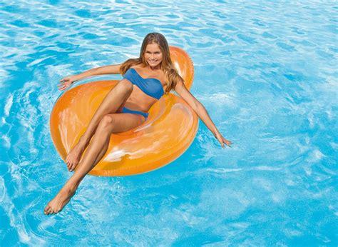 fauteuil de piscine gonflable intex glossy achat sur