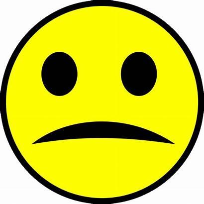 Face Dislike Clipart Sad Clip Smiley Digging
