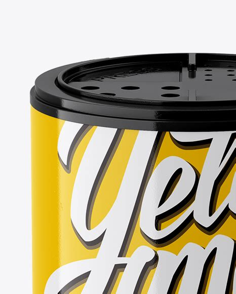 Use this mockup of a yellow spice jar for the most effective display of your design! Glossy Spice Jar Mockup (High-Angle Shot) in Jar Mockups ...