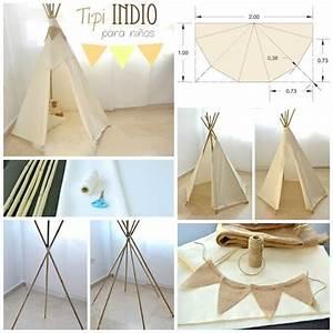 Tipi Kinderzimmer Selber Bauen : 1001 ideen und bilder zum thema tipi selber bauen tipi selber bauen kinder tipi und ideen ~ Watch28wear.com Haus und Dekorationen