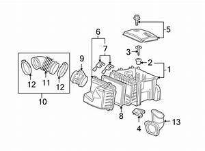 Chevrolet Uplander Engine Air Intake Hose  3 5 Liter  3 9