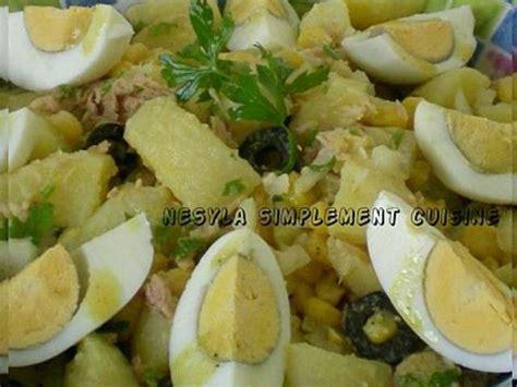 recette de cuisine pomme de terre les meilleures recettes de salade de pomme de terre