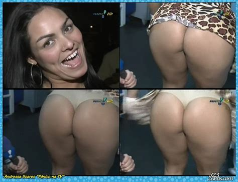 Naked Andressa Soares In Pnico Na Tv