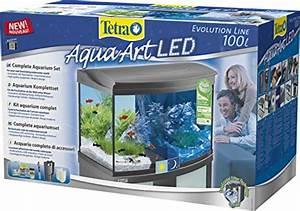 Komplett Aquarium Kaufen : tetra aquaart evolution line led aquarium komplett set 100 liter anthrazit moderne led ~ Eleganceandgraceweddings.com Haus und Dekorationen