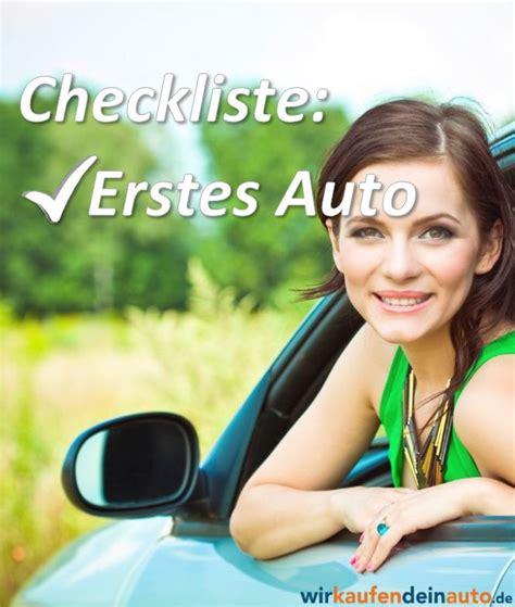 erste küche checkliste das erste auto die ideale checkliste