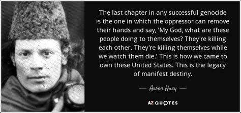 aaron huey quote   chapter   successful