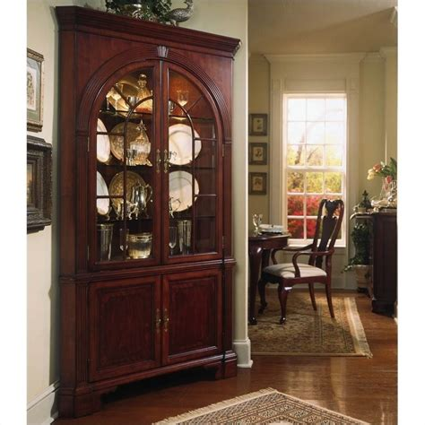 Large Curio Cabinet by Corner China Cabinet