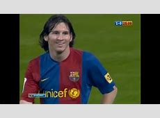 Lionel Messi vs Real Madrid Away 200607 YouTube
