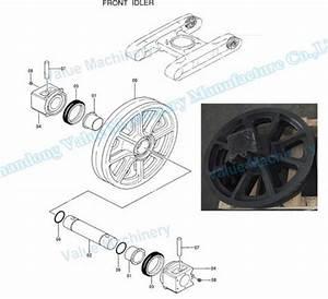 Quality Ihi Cch700 Crawler Crane Guide Idler Wheel