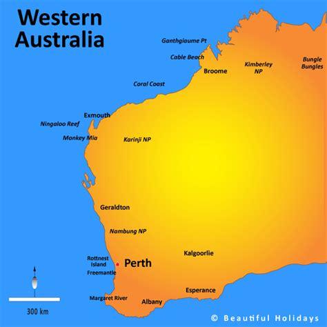 west australia map