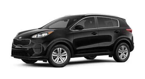 kia sportage black 2017 kia sportage color options and technical specs