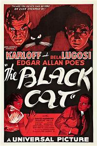 1934 The Black Cat Poster