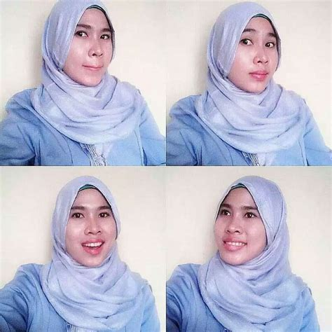 hijab muda cantik pose sexy  hot hijab seksi