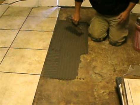 ceramic tile flooring installation by b h tile