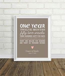 one year anniversary by pelletiercreative on etsy 800 With 1 year wedding anniversary