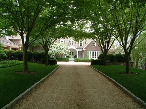 Beautiful Driveway & Entrance To A Beautiful House Have