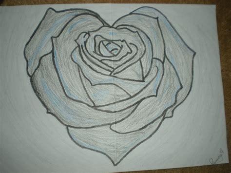 rose drawings pencil drawings sketches freecreatives