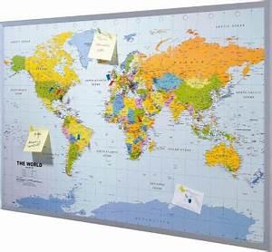 Pinnwand Weltkarte Kork : kork pinnwand preisvergleich die besten angebote online kaufen ~ Markanthonyermac.com Haus und Dekorationen